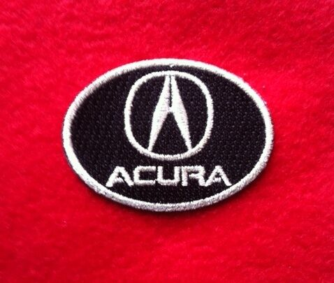 ACURA  AUTO CAR  iron on embroidery patch 2.1 x 1.9 EMBROIDERED PATCHES xxx.