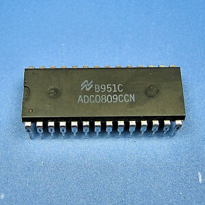 ADC0809CCN28-Pin-DIP-IC-Ships-From-USA-ADC0809N-ADC0809-NEW-Lot-of-1