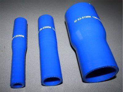 Schneidig Silikonschlauch Blau Reduzierstück Reduzierung Ladeluftschlauch Llk