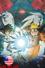"Sasuke Naruto Sakura 36/"" x 24/"" Large Wall Poster Print Fan Art Anime #01"