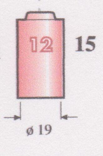 19 UGELLO CERAMICA GR 12 10N44 RICAMBIO TORCIA TIG DIAMETRO MM