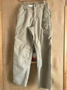 5.11 Tactical Series Men's Military 100/% Cotton Pants Size 32 x 30 Style 74251