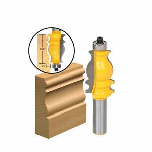 1-034-Hoehe-Durchmesser-Flush-Trim-Router-Bit-1-4-034-Schaft-Edelstahl-1-2-034-8mm