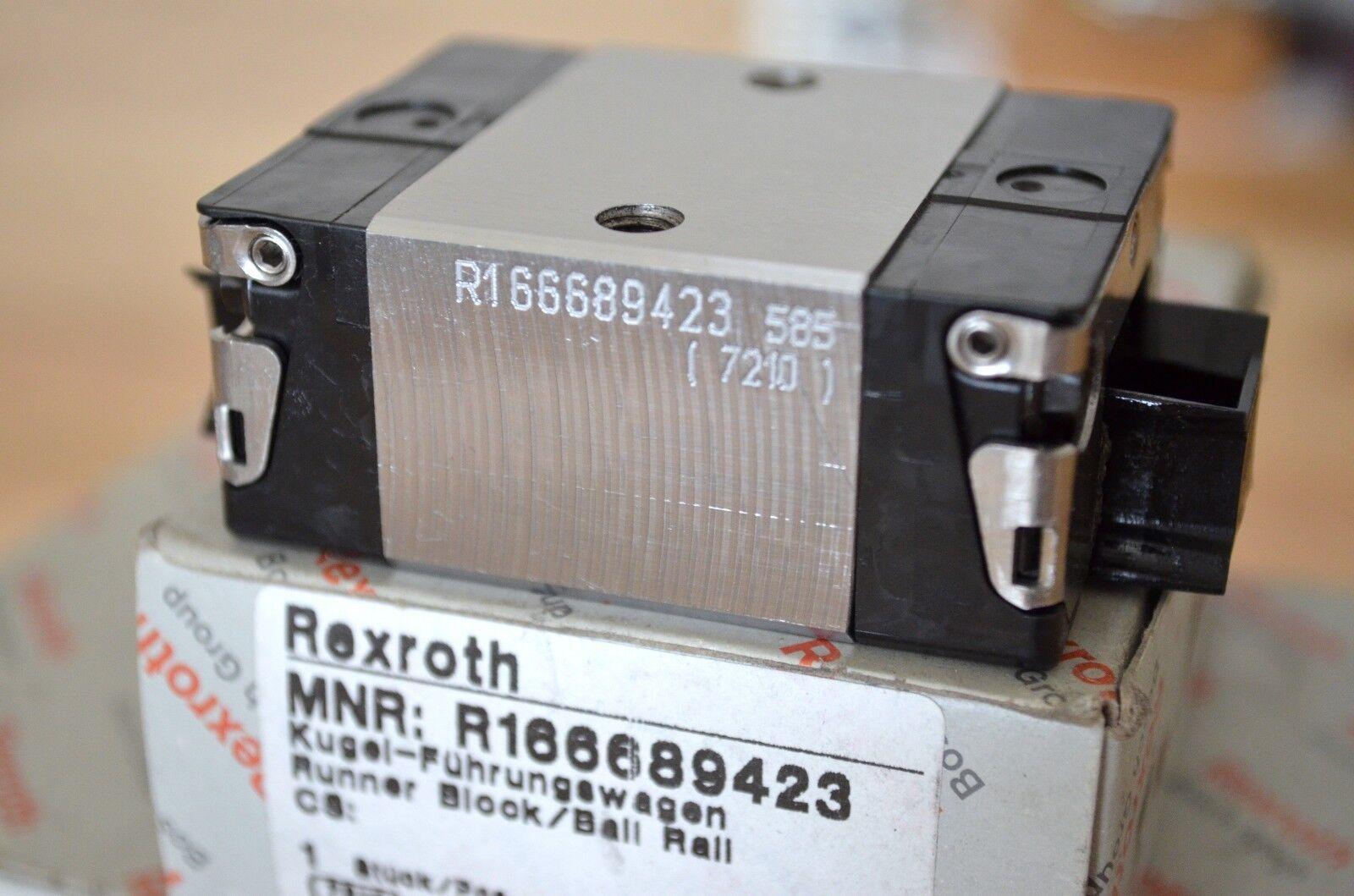 R1653 313 20 Bosch Rexroth Star Used 35 size LM Guide Block Cartridge maintenanc