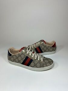 on wholesale great prices classic style Details about Gucci New Ace GG Supreme Sneaker Women's 9US/39EU