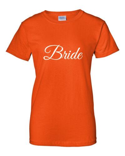 Ladies Bride Tribe Shirt Bride Squad Tees Bridal Party Bachelorette Gift T-Shirt