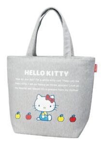 73e2ab4050 Hello Kitty SANRIO Tote bag M Sweat fabric kawaii cute NEW F S