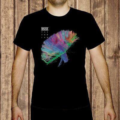 muse The 2nd Law MEN BLACK t-shirt BAND MUSIC MUSE LOGO shirt clothing unisex