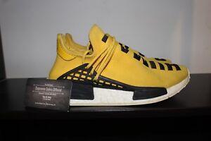 13b9a92f7 Adidas PW Human Race NMD R1 Yellow OG Pharrell sz 8 Supreme 100 ...