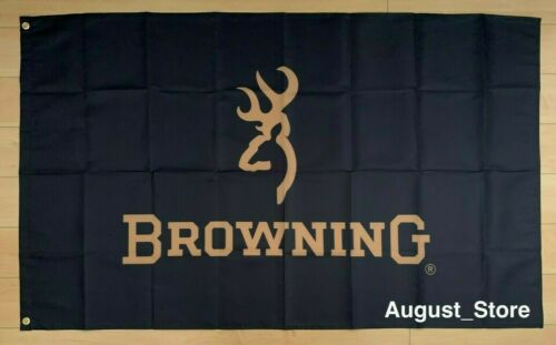 Browning Arms Company 3x5 ft Flag Banner Hunting Firearms Rifles Pistols Guns