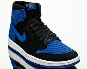 Air Jordan 1 Retro High Flyknit Royal men lifestyle sneakers blue ... 98157215b