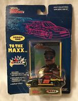 Racing Champions Ernie Irvan 1/64 To The Maxx Car Card & Display Stand