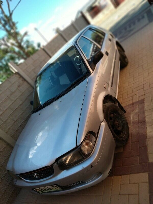 Toyota Tazz,silver  n in good condition