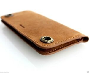 genuine-real-leather-case-for-iphone-SE-5c-5s-book-wallet-cover-brown-handmade-5