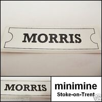 Classic Mini Morris Rocker Cover Sticker a-series a+ mg 998 1275 cooper van bmc