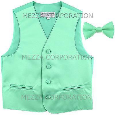 New Kids boys formal tuxedo vest/_necktie /& bowtie Purple US 2 4 6 8 10 12 14