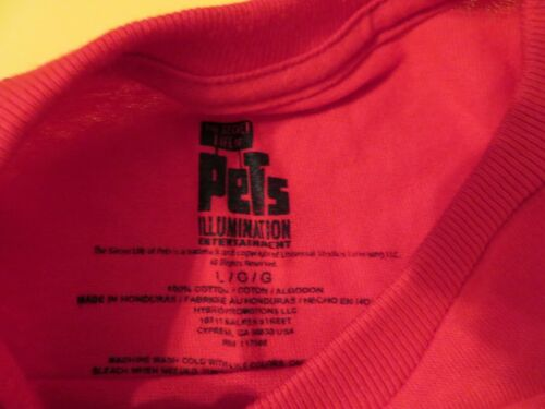 """Details about  /Secret Life of Pets Dachshund Buddy /""""WIENER  TAKES ALL!/"""" Youth Kids Shirt S L"""