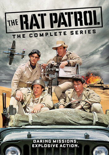 The Rat Patrol: The Complete Series - DVD - Free Shipping. - New