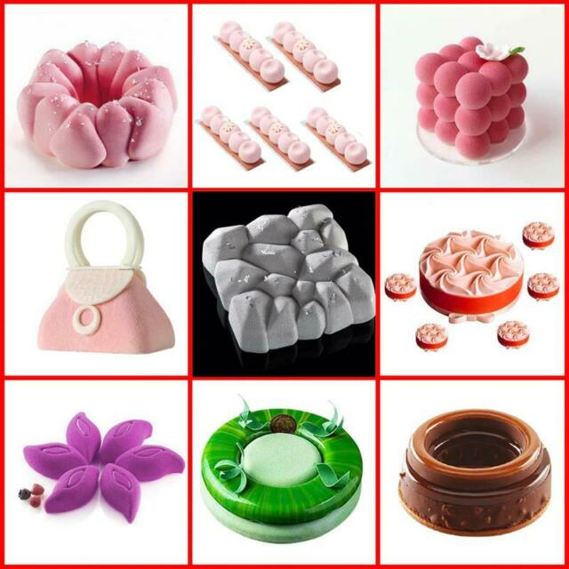 Kitchen, Dining & Bar SILIKOLOVE Rose Heart Cake Mold 3D Silicone ...