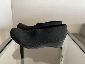 Charleston-Shoe-Company-Women-s-Black-Stretch-Booties-Size-8-NIB-Style-Cape