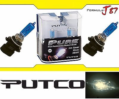 Halogen 9005XS HB3A 65W 5000K White Two Bulbs Head Light High Beam Replacement