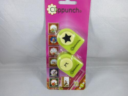 Motivlocher Clip Stanzer Stern Motivstanzer ca:15 mm Kartengestaltung Basteln