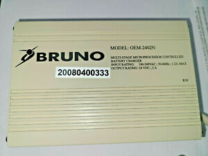 NEW Generation Bruno OEM Charger OEM-2402N  BCR-24024 - Formally BCR-24018