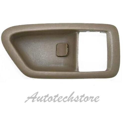Pair Left Right Inside Inner Door Handle Case For 97-01 Toyota Camry Tan DS34