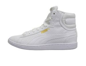 auf großhandel tolle Preise Spielraum Details about Puma Vikky Mid FP Women Mid Top Sneakers Basketball Shoes  36372802 White Size 10