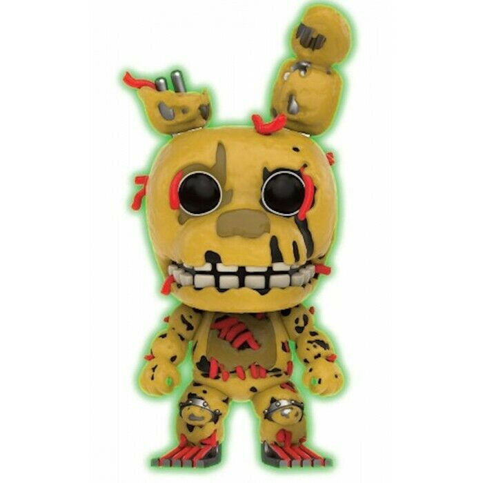 FUNKO POP CULTURE GAMES FIVE NIGHTS AT FREDDY'S SPRINGTRAP GITD VYNIL FIGURE