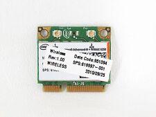 Intel Centrino Advanced-N + WiMAX 6250 Wireless WiFi Combo Card HP 619997-001