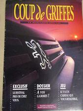CATALOGUE AUTO : PEUGEOT : COUP DE GRIFFES LE MAGAZINE SPECIAL 02/1992