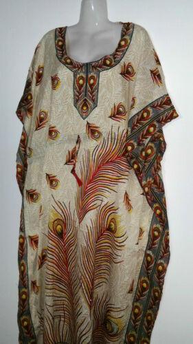 Maxikleid Strandkleid Sommerkleid Kaftan Boho Jellabiya Abaya Kimono
