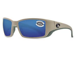78a834cf2a Costa Del Mar Blackfin Matte Sand   Blue Mirror 580 Glass 580G - NEW ...