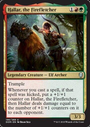 MTG Foil X1 Dominaria the Firefletcher NM *CCGHouse* Magic Hallar
