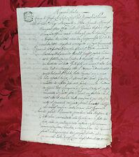 Regno d'Italia 1807 Dipartimento del Panaro Modena Corte di Giustizia Criminale