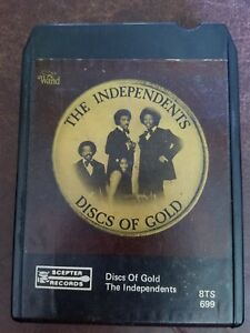 The Independents Discs of Gold 8 Track Cartridge Tape Scepter Records 8TS 699