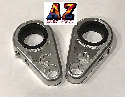 "A Pair ATV Brake Line Clamp For 1/"",3//4/"" Yamaha Banshee 350 Blaster 200 1988-2006"
