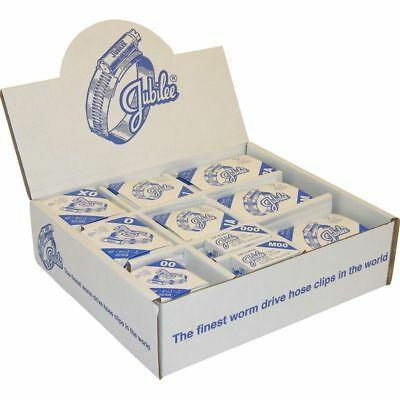 Genuino Jubilee Manguera Práctico Surtido Pack Caja Dispensador de clips de 100 clips de HP100