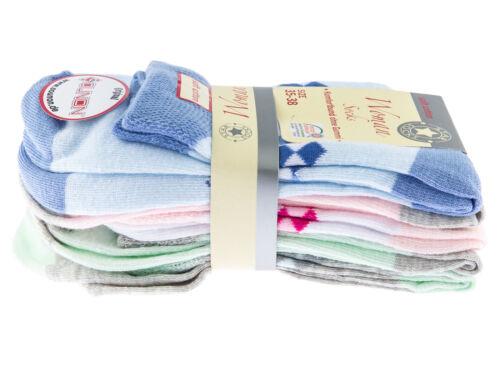 10 Paar - Verschiedene Muster SOUNON® Damen Kurzsocken Komfortbund ohne Gummi