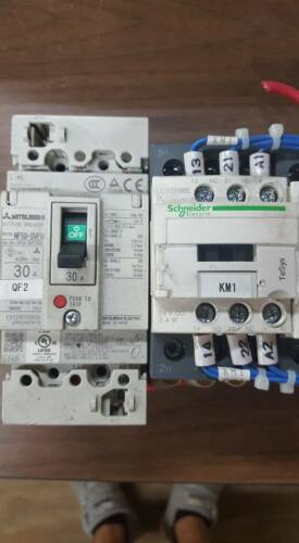 CONTACTORS   W55 2 Details about  /MITSUBISHI NF50-SVFU CIRCUIT BREAKER 30A WITH LC1 D386