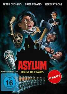 Asylum-Maze-Des-Terror-Roy-Ward-Baker-Peter-Cushing-DVD-New