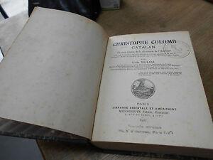 Rare Luis Ulloa Christophe Colomb La Vraie Genese De La Decouverte De L'amerique