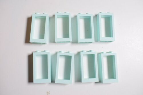 LEGO 60593 Window 1 x 2 x 3 Flat Front Select Colour JOB LOT Pack of 8