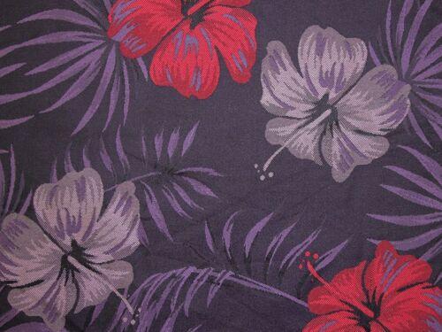Large Floral Woven Brocade Dress Fabric EM-2170-Purple-M