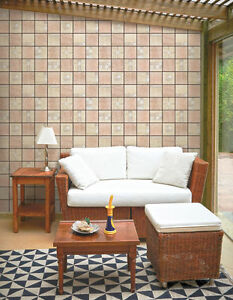 Stone Tile Look Contact Paper Self Adhesive Wallpaper Roll