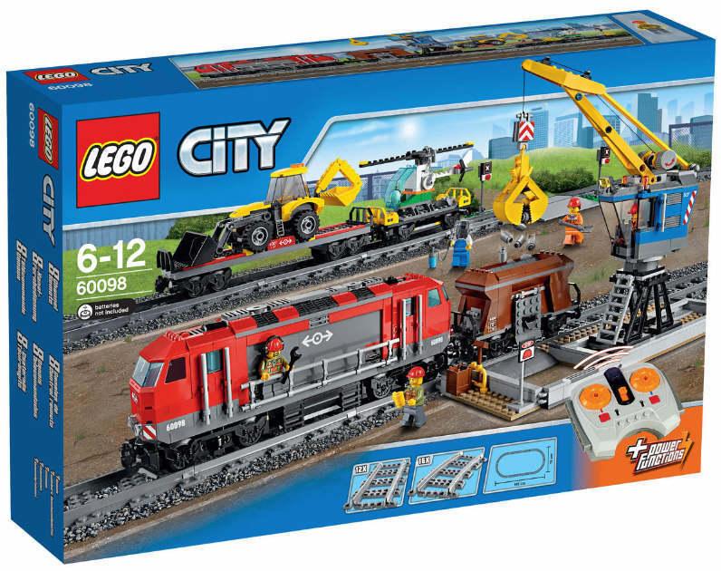 LEGO® CITY 60098  & Schwerlastzug NEU &  OVP mit 8-Kanal-Infrarot-Fernsteuerung NEU 2c2471