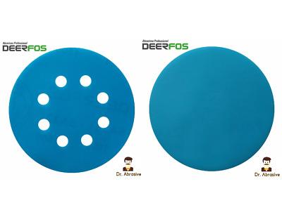 """6"""" Film Sanding Discs 0-Holes Hook /& Loop 50-Pcs Ideal for Car Repair Grit P40"""