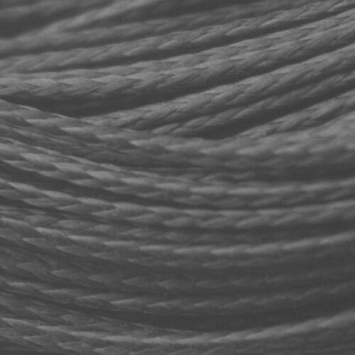 50ft 200lb Braided Black Kevlar Speargun Band Constrictor Cord 15m