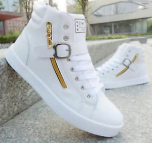 Men-039-s-Fashion-Casual-High-Top-Sport-Shoes-Sneakers-Athletic-Running-Shoes-LOT